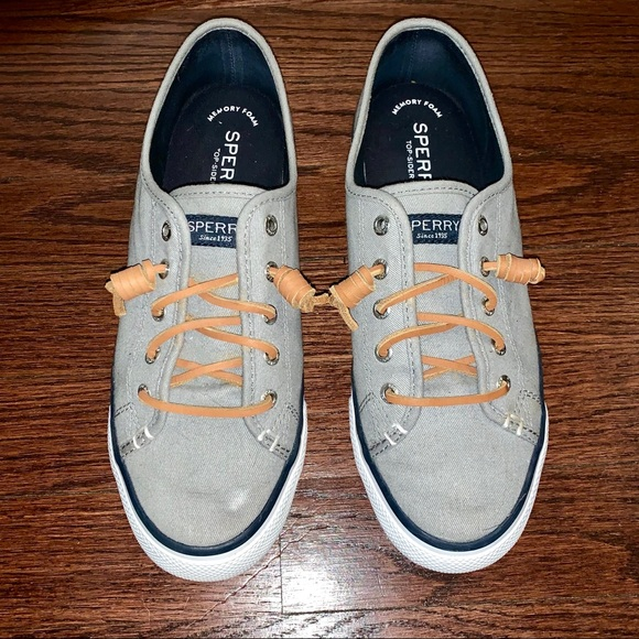 Sperry Shoes   Gray Sperry Slip Ons